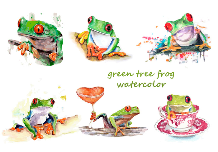Zoo wildlife watercolor water vector tropical Tropic tree travel Toad textured summer silhouette set reptile red Rainforest Poisonous poison paint nature kids jungle isolated image illustration icon green tree frogs green tree frog green frog forest fauna exotic environment element ecology eco drawing design dart color collection card blue black art aquarium aqua animal amphibian Adventure