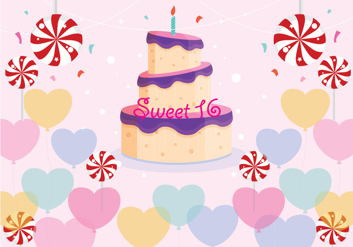 year wishing wish whipped sweet 16 sweet suprise straw shine ribbon people party number lit kid joy icing happiness fun food flame fire finery Excitement event dessert decoration cream congratulating confetti color ceremony celebration candy candle cake birthday cake birthday balloon 16