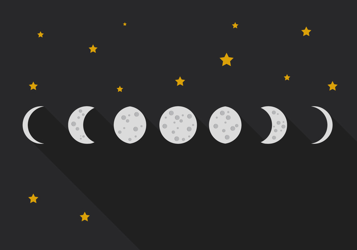 weather visible vector time system Surface study star sphere space sky side shape shadow set sequence sector science satellite Quarter Planetarium planet phase penumbra orbiting orbit object night new nature moonlight moon month lunar logo light illustration icon Half gibbous full forecast flat education eclipse design decreasing dark cycle crescent crater cosmos circle chart black background astronomy astronomical astrology