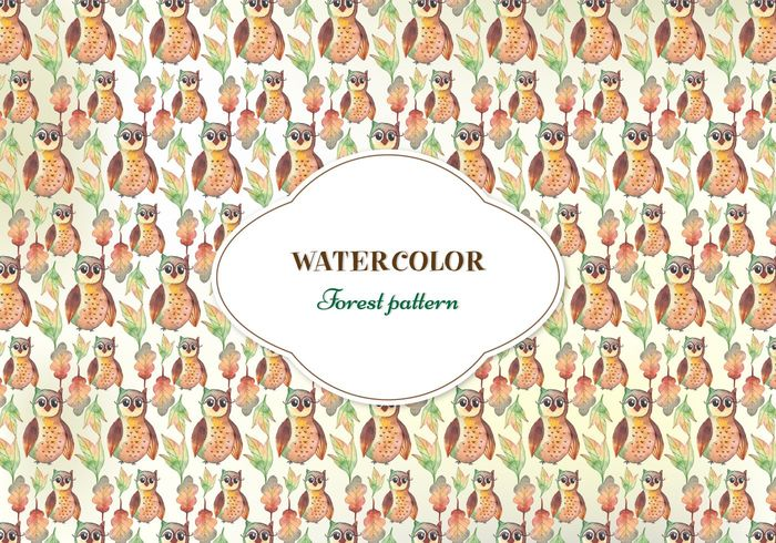 wrap watercolor wallpaper texture sweet seamless print pattern paper owls owl pattern owl ornament nature graphic funny fun fabric element drawn design decoration decor cute comic colorful character cartoon bird pattern bird background art adorable