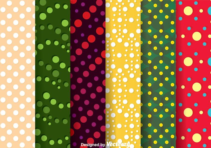 wallpaper template soft shape seamless repeat polka dot pattern pattern dot pattern dot curve colorful circle background backdrop
