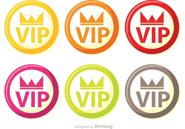 vip icons vip icon vip Very important person symbol success sign royal rich Membership member luxury important golden gold exclusive crown icon crown approval