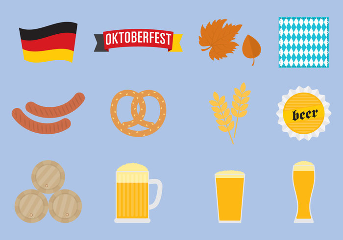 white wheat vintage travel traditional tourism tag symbol style simple silhouette sausage retro Pretzel pictogram party Oktoberfest October Munich mug monochrome keg isolated illustration icon hot holiday heart hat graphic glass germany German food festival fest element drink drawing design collection classic bratwurst beer Bavarian Bavaria barrel bar banner autumn