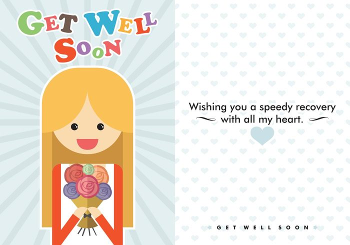 wishes toughtful Sickness roses rose recovery message recovery recover minimal message little hearts hearts heart pattern heart health happy greeting card greeting get well soon message get well soon cards get well soon card get well soon get well message get well card Get Well friends flowers flat style flat design feel better Disease cute hearts cute cards card bouquet blue heart best wishes
