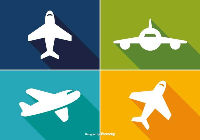 world wing white trendy travel icon travel transportation transport tourism symbol silhouette sign shape shadow set plane pilot passenger long shadow long jet isolated illustration icon set icon graphic fly flight flat icons flat fast design concept colorful cargo bright blue aviation airplane icon airplane airline aircraft air aeroplane