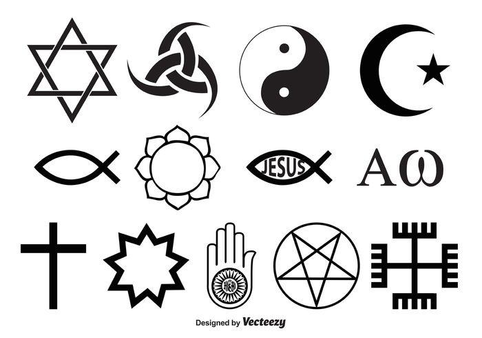 Religious Symbol Vectors Welovesolo