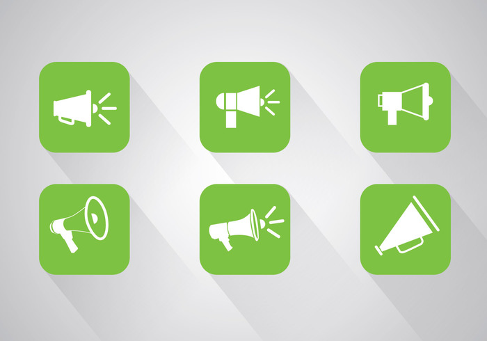 website web vector ui trendy symbol style silhouette sign shout set scream rounded Propaganda object modern mobile megaphone icons megaphone icon megaphone Loud isolated illustrator illustration icon graphic flat element drawing design cool contemporary concept clipart button bullhorn broadcast blank black background AI