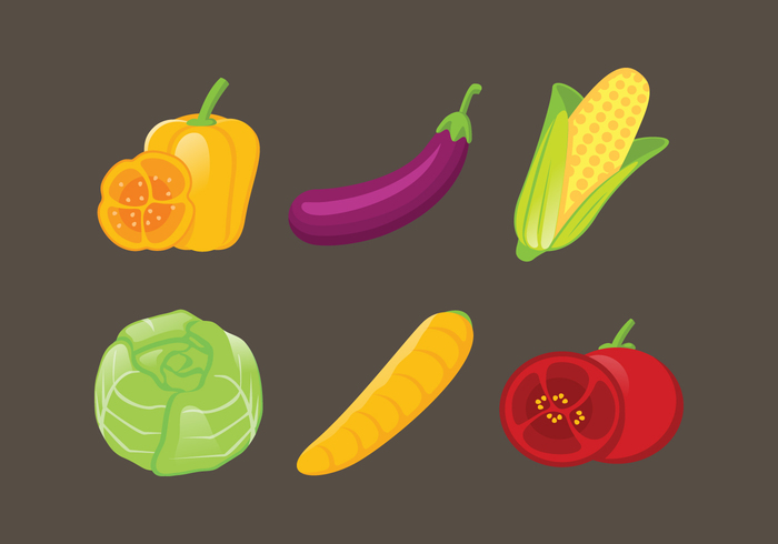 vegetarian vegetables vegetable vegan vector tomato Tasty sweet sign set season radish quality pepper paprika ornament object leaf isolated illustration icons icon Healthy health graphic garden fresh food element eggplant design cute corn cooking colorful color collection carrot cabbage broccoli