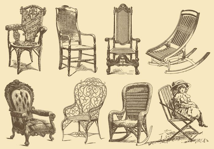 wood white vintage vector stylish style room retro rest pictorial ornate old fashioned old luxury luxurious lifestyle isolated interior illustration Illustrated household home history historical historic handmade graphic furniture fauteuil etching engraving engraved elegance drawing design decorative decoration deck chair craft Comfort classic chair carved black background armchair antiquity antique ancient aging accessories