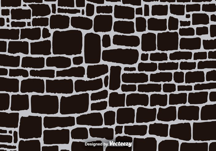 wall tiled tile texture stonewall stone path stone smooth rubble round rough rock pebble paving pattern path Mortar cartoon background