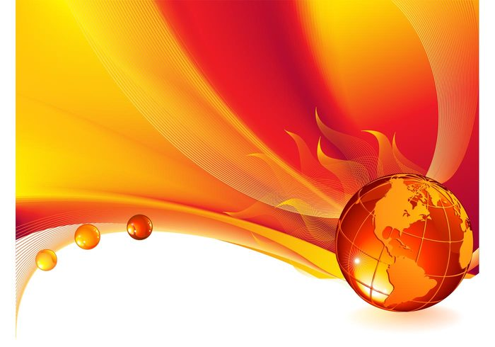 world wireframes wireframe shiny planet lines glossy globe flames earth drops burning burn background abstract 3d