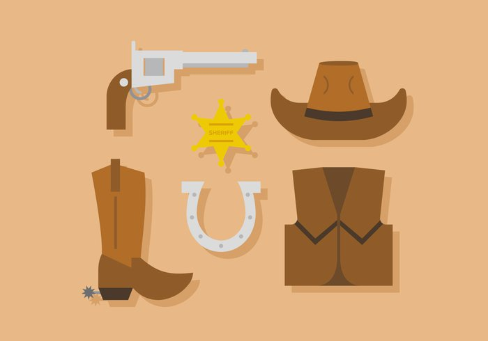 wild west wild western west weapons vector thorns texas symbol star simbol silhouette sign shoot shoes set rope rod revolver retro prickles pistol old west town objects leather knout illustration icon historic high hat handgun gunpoint gun gat garment design cowboy cactus cabourg boots boot belt badge background art american america Adventure accessories