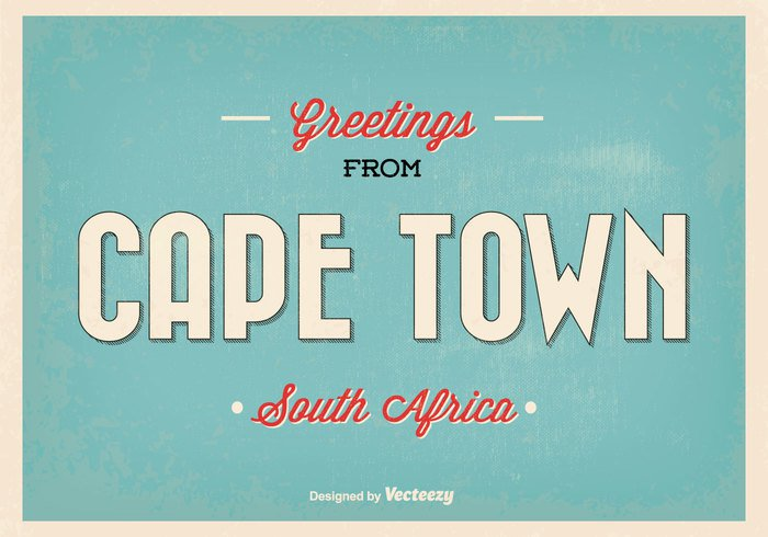 world welcome Visit vintage vector vacations typography trip travel town touristic tourist tourism texture south africa south sign ribbon retro postcard Post card old Lettering label illustration hipster greetings from greetings greeting card decoration classic city card cape town cape calligraphy business banner background agency africa advertising