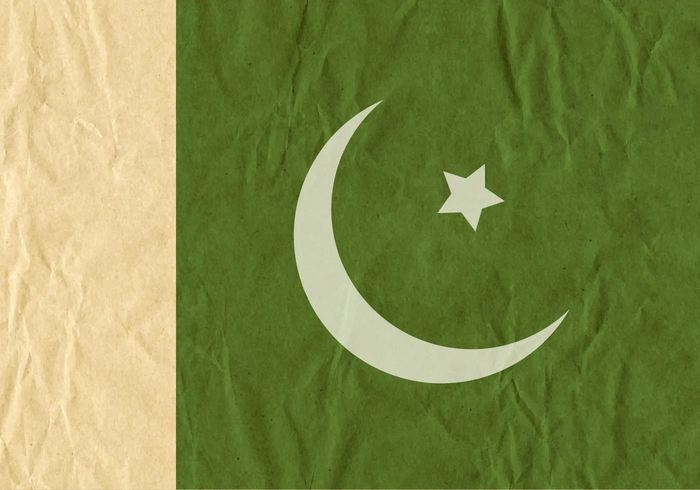 wrinkled white torn textured texture symbol stained smudged sign scratched rectangle paper pakistani pakistan flag Pakistan object Nobody horizontal grunge green folded flag dirty Damaged cut corrugated Condition colored carton cardboard card bad Backgrounds background asia