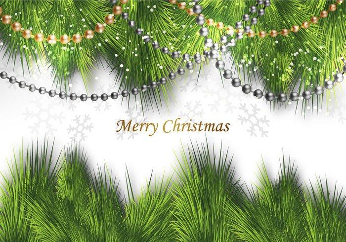 xmas wreath shine pine needle merry illustration holiday greeting glitter gift Garland frame evergreen element elegant decorative decoration celebration baubles ball background