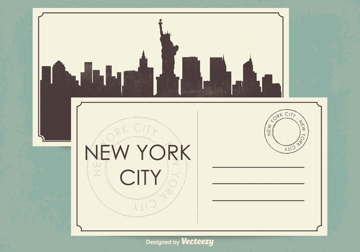 york world vintage vacation USA United trip travel tourism tour texture template statue states state silhouette sculpture retro postcard post paper outline old new monument message Liberty letter island invitation holiday grunge greeting great enlightening element drawing culture congratulation concept city card banner background art architecture american america
