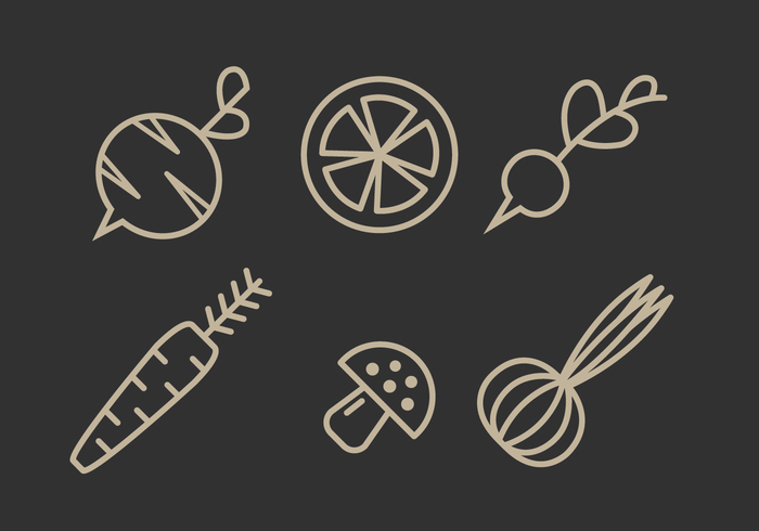 vegetarian vegetables vegetable vegan vector tomato Tasty sweet sign set season radish quality pepper paprika ornament object leaf isolated illustration icons icon Healthy health graphic garden fresh food element design cute corn cooking colorful color collection carrot cabbage broccoli avocado