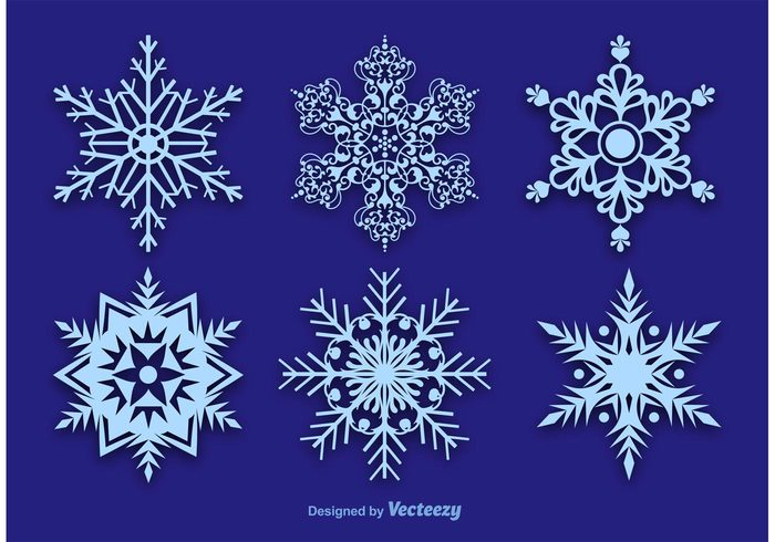 winter snow winter weather symmetry snowy snowflakes snowflake icon snowflake snow shape season ice frozen frost flake decorative snowflake December cut out snowflake cold christmas blue snowflake