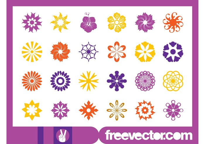 spring plants petals nature icons icon flowers flower floral flora blossoms blossom