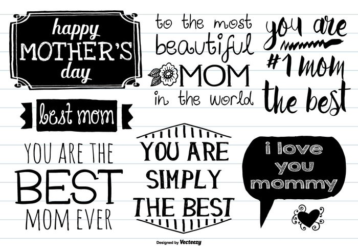 you vector typography type text template sketchy shape set scrapbooking role print postcard pink parents Mother's day Mother's mother Moms mommy mom Messy love Lettering labels label isolated holidays heart happy hand drawn hand greeting gift feelings family emotions emblem element editable drawn design day cute concept celebration card calligraphy best mom best badge background art advertising