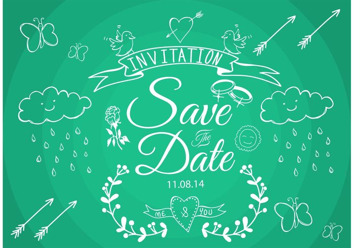 save the date vectors welovesolo