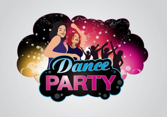 wallpaper partying party ladies disco dancing dance hall dance floor dance background