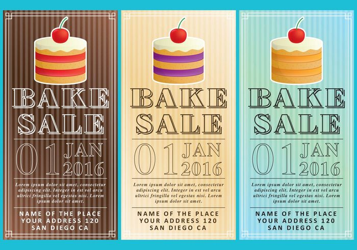 Bake Sale Flyers