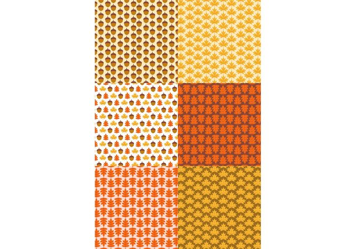 wallpaper Textile sweet set seamless red pattern set pattern orange nature leaf kids illustration Idea forest fabric element design decorative decoration decor cute creative colorful brown Backgrounds backdrop autumn acorn
