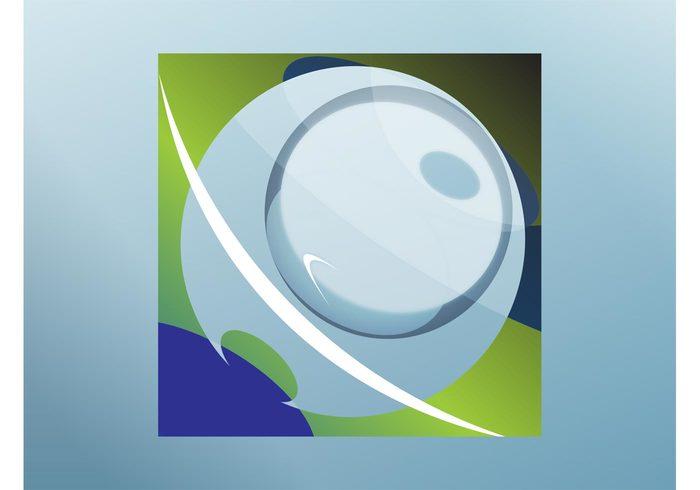 Visual identity versatile square shiny shines round lines gradient Geometry Geometric Shape circle branding