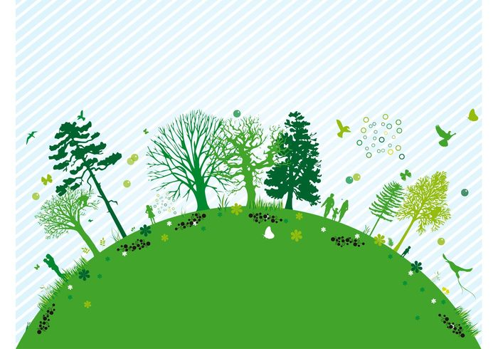 walk trees tree plants planet people park love kiss hill Harmony globe forest flowers family ecology eco earth couple butterflies birds