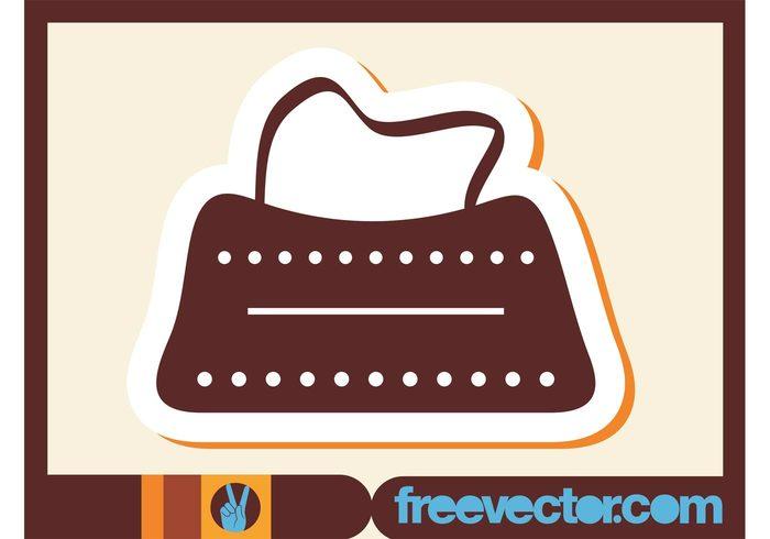 style sticker purse logo line icon handle fashion dots circles bag accessory