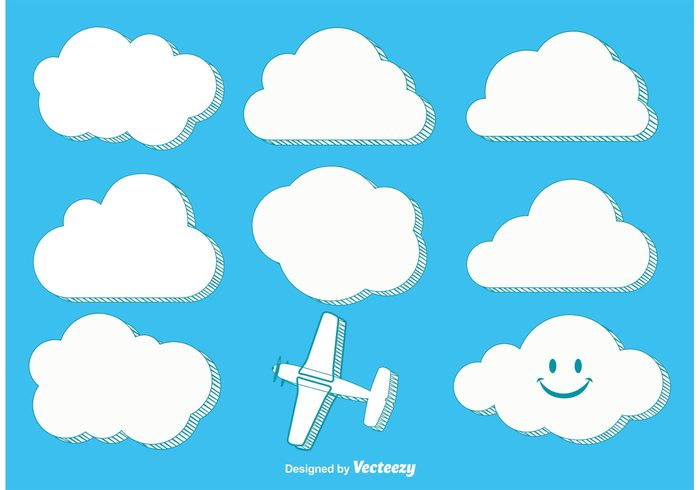 white weather vector clouds trendy clouds trendy symbol summer stylized clouds stylized sky Simplicity sign shape set paper Outdoor nature icon Heaven forecast fluffy environment element design day cute clouds cute curve collection cloudy Cloudscape cloud set cloud clipart clip cartoon blue beauty beautiful background air
