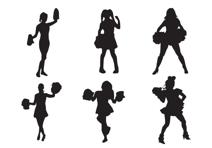 team sport silhouette people league isolated girl female energy dance competition college Cheerleading Cheerleaders cheerleader silhouette cheerleader backgrounds cheerleader background Cheerleader cheer black Adult