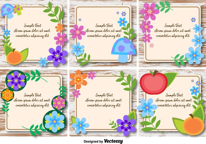 wooden frame wooden background wooden wood vintage summer spring romantic ornament nature leaf label greeting frame flower floral elegant decorative decoration citrus card border blossom beautiful banner background