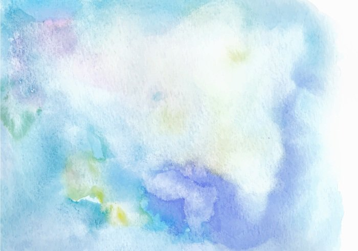 Light Blue Free Vector Watercolor Texture Welovesolo