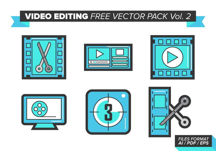 work video editing video stop sound rewind repeat play music lights icon graphics fresh frames fps edition cut colorful camera background