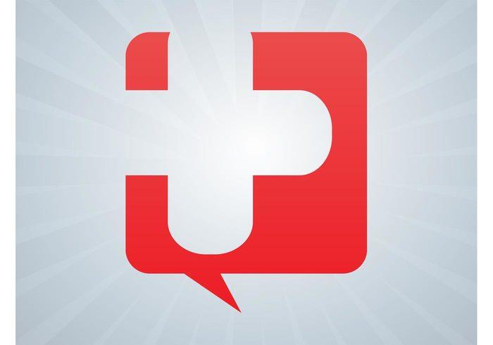 template sticker speech bubble speech balloon logo icon decoration decal cross comic Clothing print