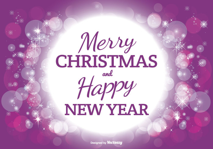 xmas winter typography texture style sparkle seasonal season purple abstract party night new year merry christmas light holiday happy happiness glitter focus effect dot design decor color circle christmas background christmas celebration bright light bright bokeh background bokeh blurry blur beautiful background