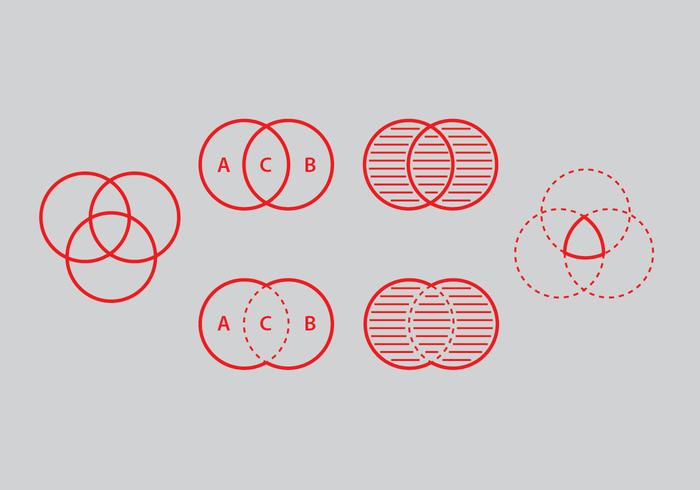 Venn diagram vector set welovesolo venn diagram vector set ccuart Choice Image