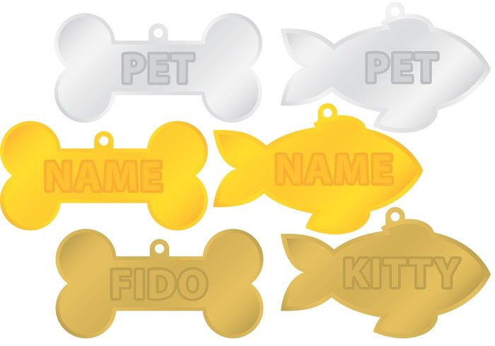tag silver shine puppy Platinum pet metal medal isolated gold Domestic dog tag dog collar dog bone tag dog bone isolated dog cute collar Canine Bone animal accessories
