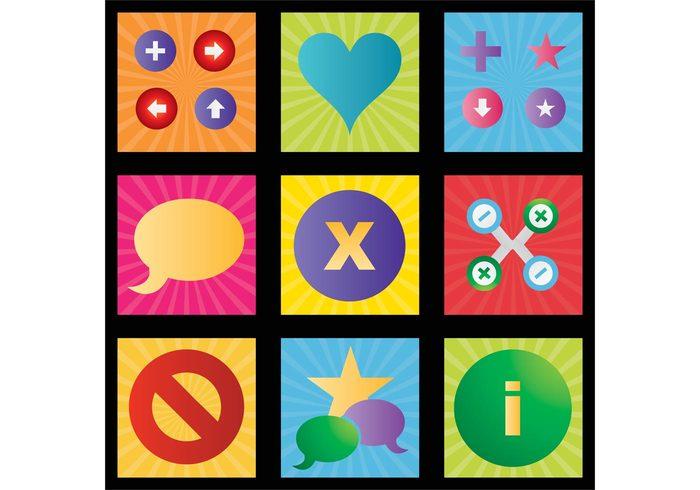 symbols symbol Stock art plus minus love logos logo information images icons icon heart Free stock Footage color clipart clip art