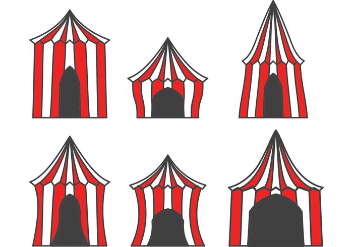 vintage circus top theater tent striped show sale red Premiere performance isolated funfair fun festive festival fair event entrance entertainment cirque du soleil Circus carnival big top big amusement