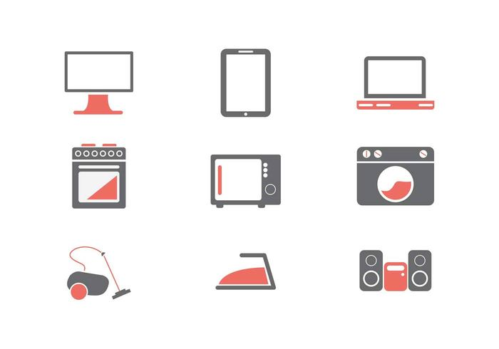 washing machines video vacume cleaner tablet speakers press Oven microwave mac-book pro internet icons headphone electronics icons clean services apple