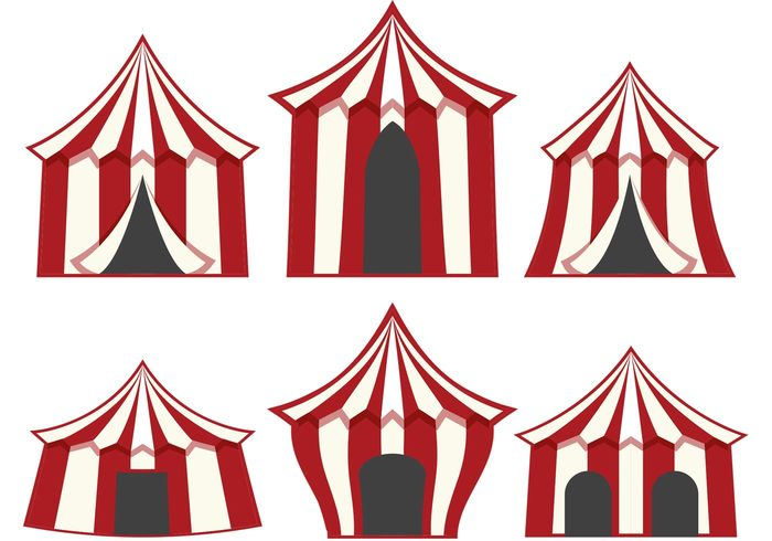 vintage circus top theater tent striped show retro circus red Premiere performance funfair fun festive festival fair event entrance entertainment cirque du soleil Circus carnival big top big amusement