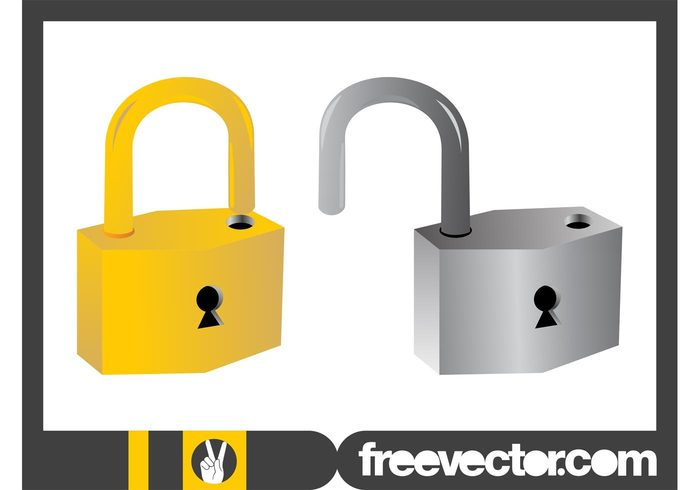 silver Shanks Shank Shackles Shackle security safety Privacy padlocks padlock open metallic metal lock keyholes keyhole golden gold