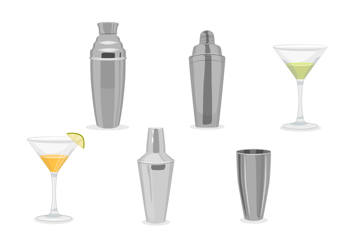 Modern Cocktail Shaker cocktail shaker vectors 116596 welovesolo