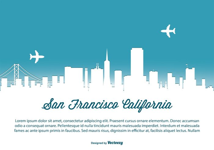 west USA United travel states skyscraper skyline sky silhouette shore scraper San francisco reflection poster postcard panorama modern landmark high golden gate front downtown detailed coast cityscape city skyline san francisco city california building Bridge beautiful background architecture america Alcatraz