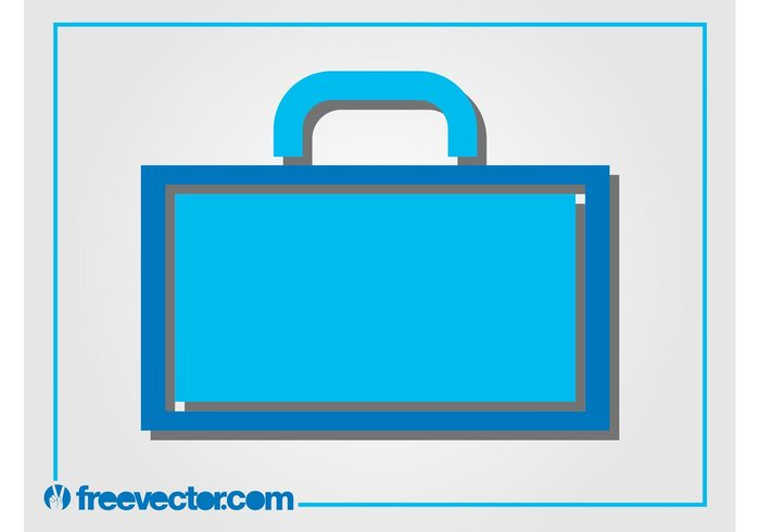 travel suitcase luggage logo Journey icon handle briefcase baggage bag