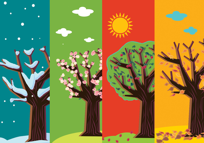 wood winter tree winter trunk tree symbol swirl summer spring silhouette sign season nature natural leaf illustration garden four seasons forest flower flourish floral fall tree Fall environment ecology eco design decorative decoration decor curl creative conservation concept card branch banner background autumn arbor abstract
