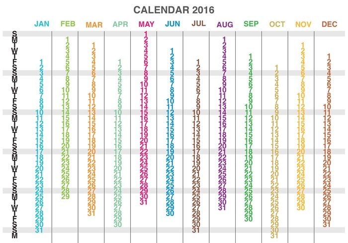 yearly year weekly week time template scheduler schedule planner organizer new year new monthly month modern layout format day date daily calender calendario 2016 calendar 2016 calendar Annual almanac agenda 2016